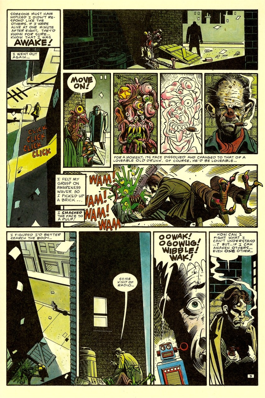 'Nada' comic Ray Nelson and Bill Wray page 2.