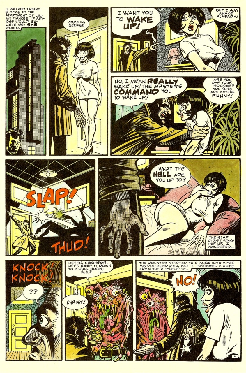 'Nada' comic Ray Nelson and Bill Wray page 3.