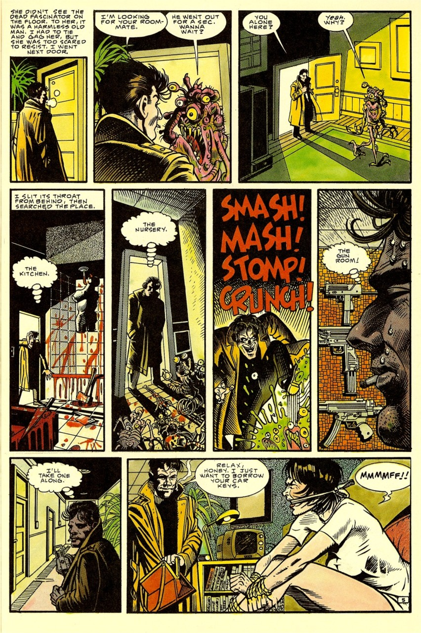 'Nada' comic Ray Nelson and Bill Wray page 4.