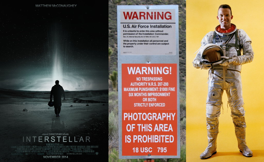 Interstellar and the secret space program.