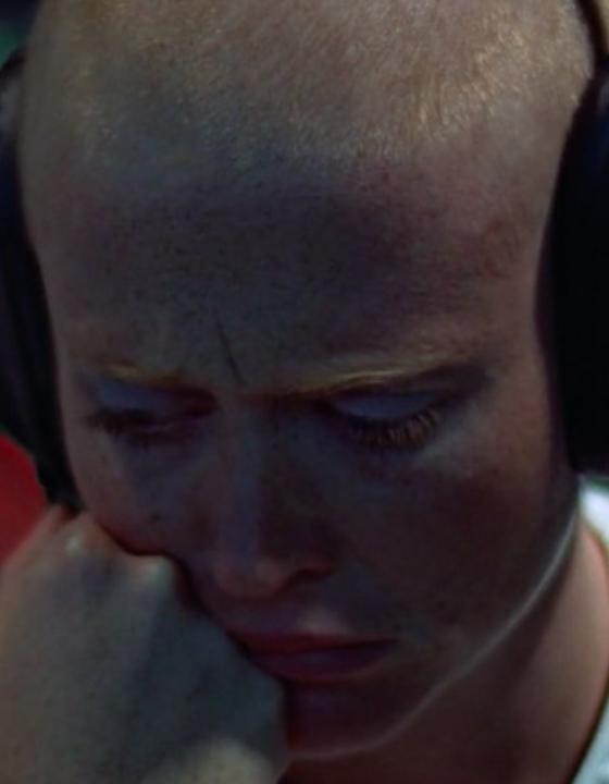 Maggie McOmie in the Sci-Fi Film THX 1138