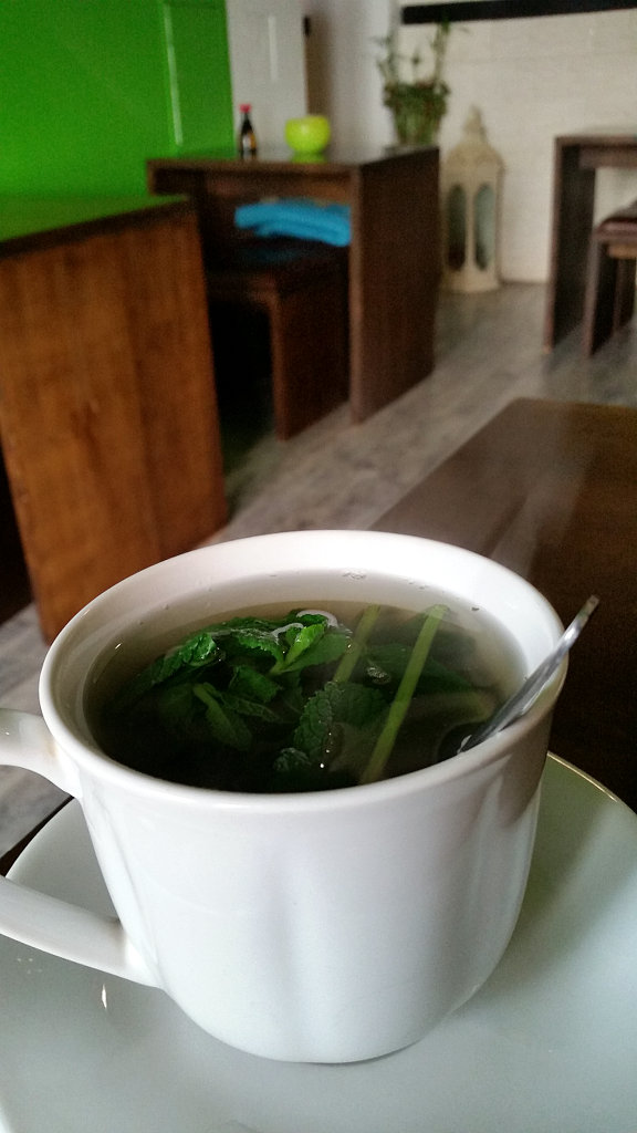 Mint tea in Chay Asia Berlin. Photo: Sanjin Đumišić.