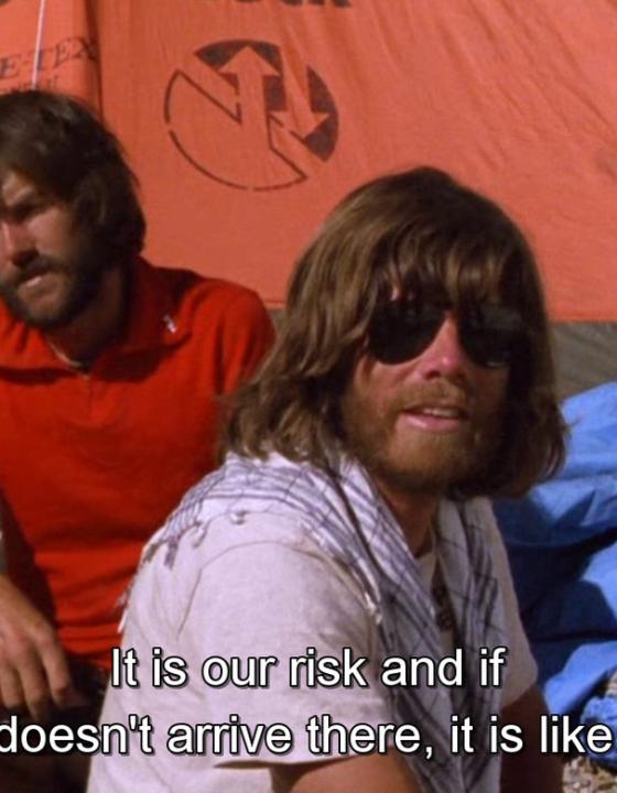 Reinhold Messner & Hans Kammerlander in Werner Herzog's cinematic world