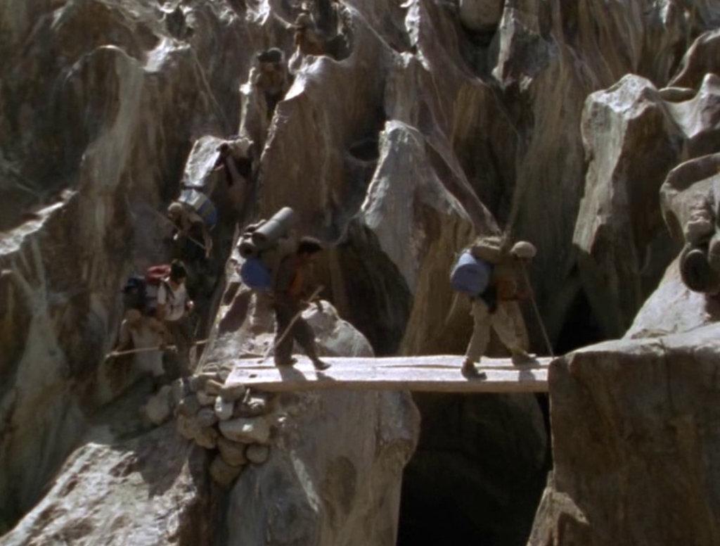 Reinhold Messner & Hans Kammerlander in Werner Herzog's cinematic world.