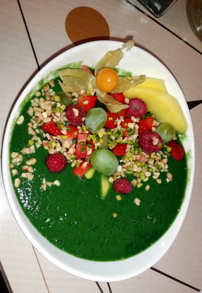 Geh Veg, spirulina smoothie. Photo: Sanjin Đumišić.