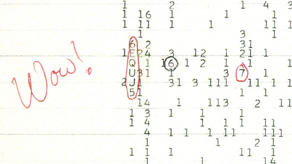 Wow! Signal 1977.