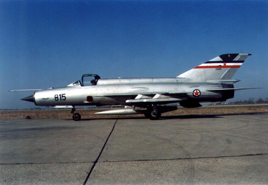 Yugoslav MIG-21.