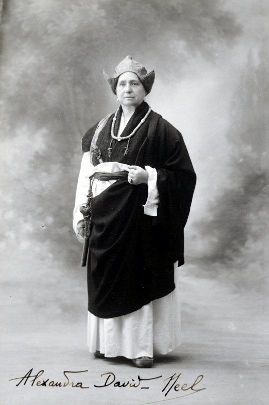 Alexandra David Néel.