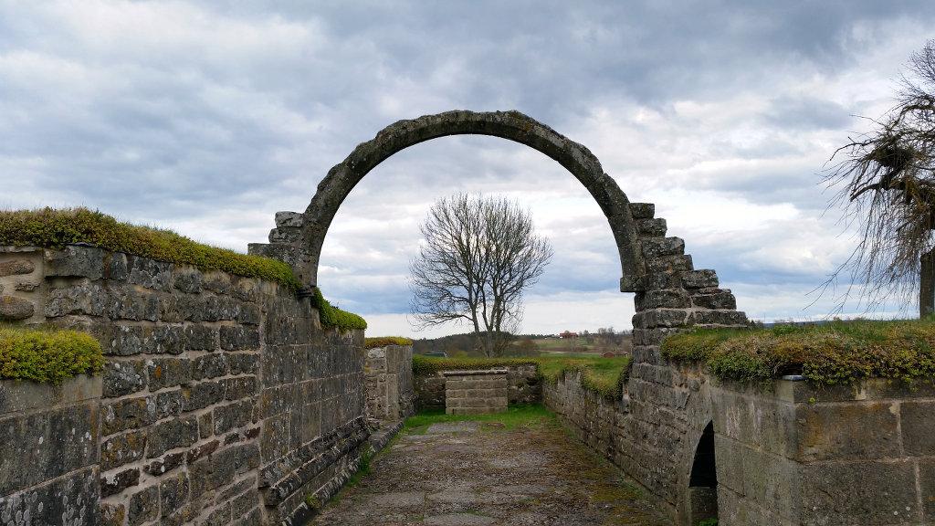 Gudhem Abbey medieval ruins (Gudhems klosterruin)