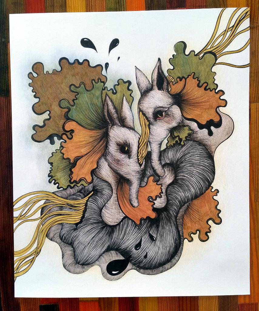 Artwork by Anita Šarkezi.