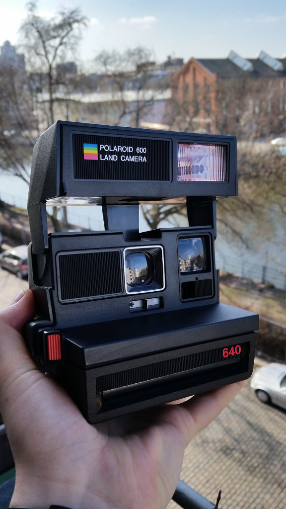 Polaroid 600. Photo: Sanjin Đumišić.