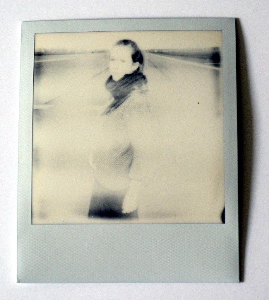 Overexposed polaroid. Photo: Sanjin Đumišić.