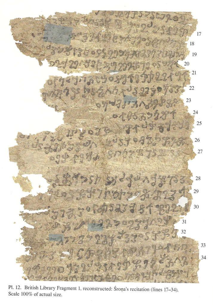 Gandhāran Buddhist Texts.