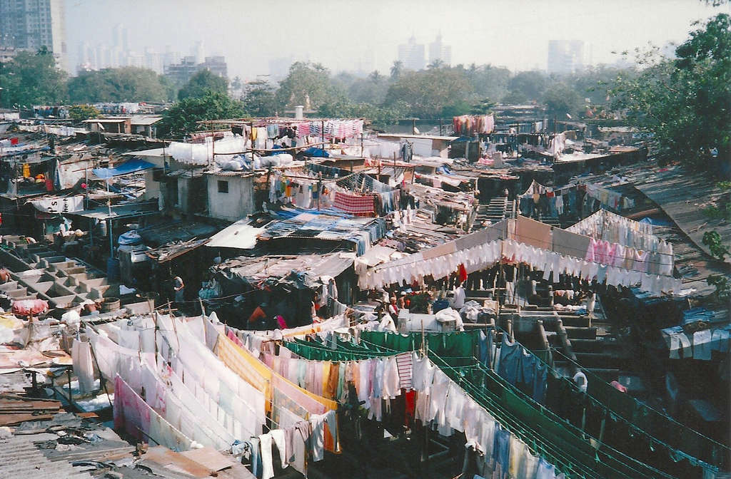 New Delhi slum. Photo: Sanjin Đumišić.