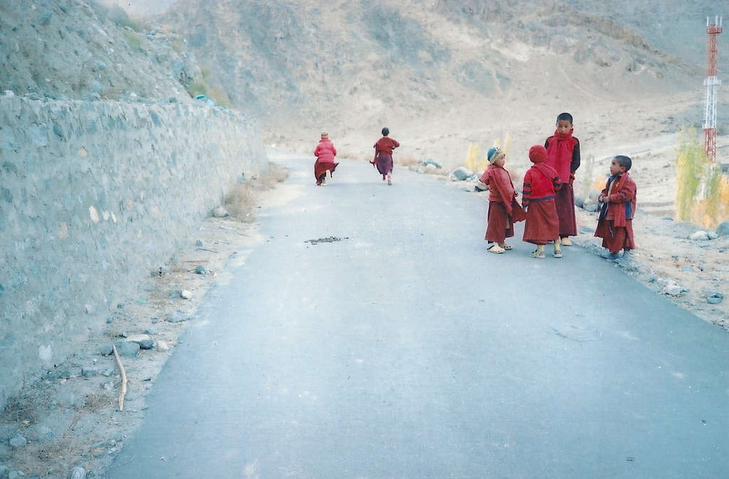 Orphan monks in Ladakh. Photo: Sanjin Đumišić.