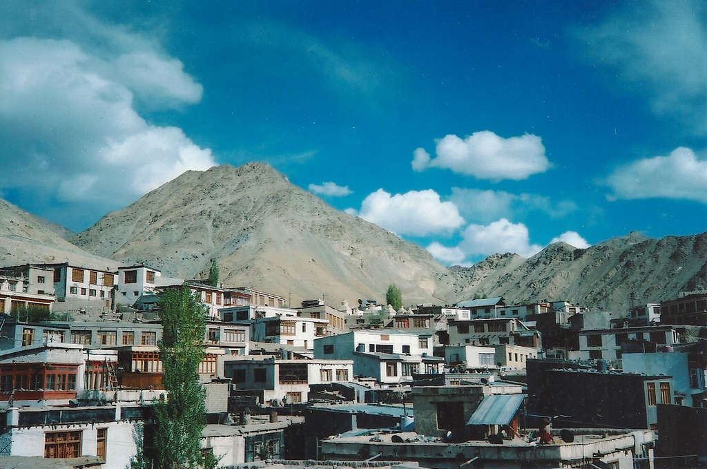 Rooftops in Leh. Photo: Sanjin Đumišić.