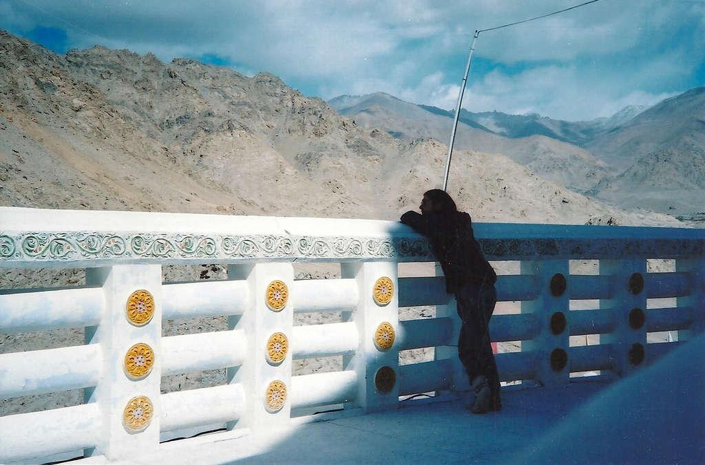 Self portrait in Leh. Photo: Sanjin Đumišić.