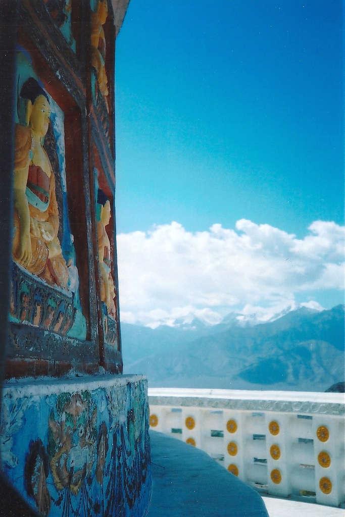 Shanti Stupa in Leh. Photo: Sanjin Đumišić.