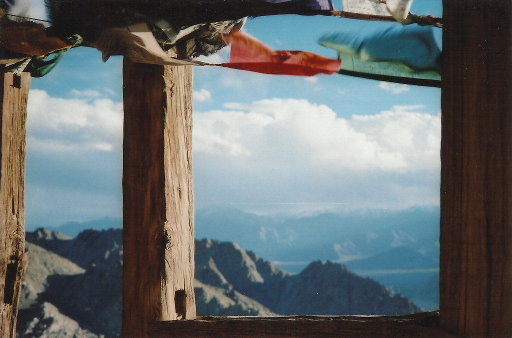 View from Namgyal Tsemo Gompa in Leh. Photo: Sanjin Đumišić.