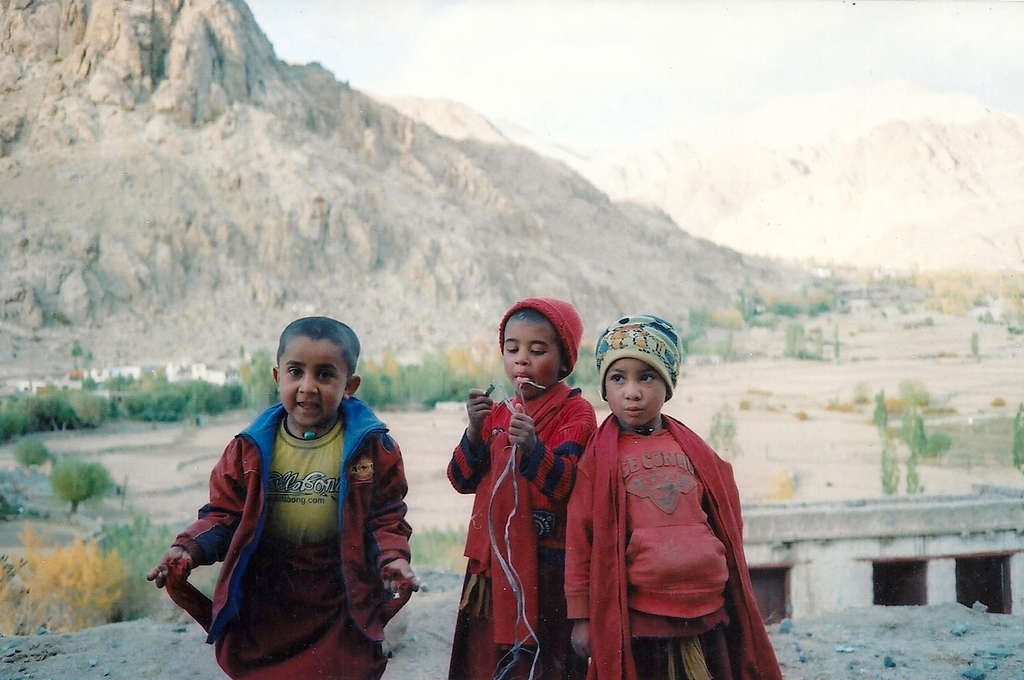 Young orphan monks in Ladakh. Photo: Sanjin Đumišić.
