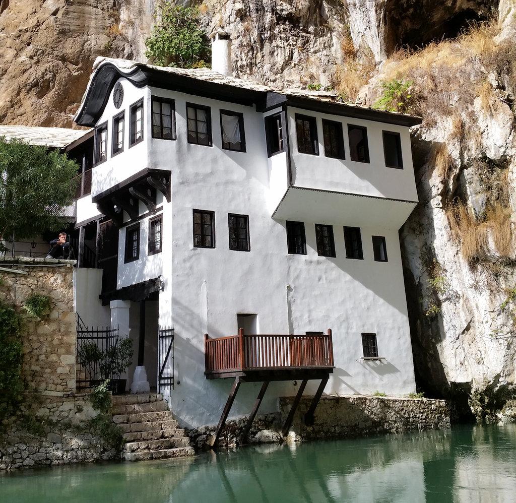 Blagaj Tekke, Dervish house. Photo: Sanjin Đumišić.