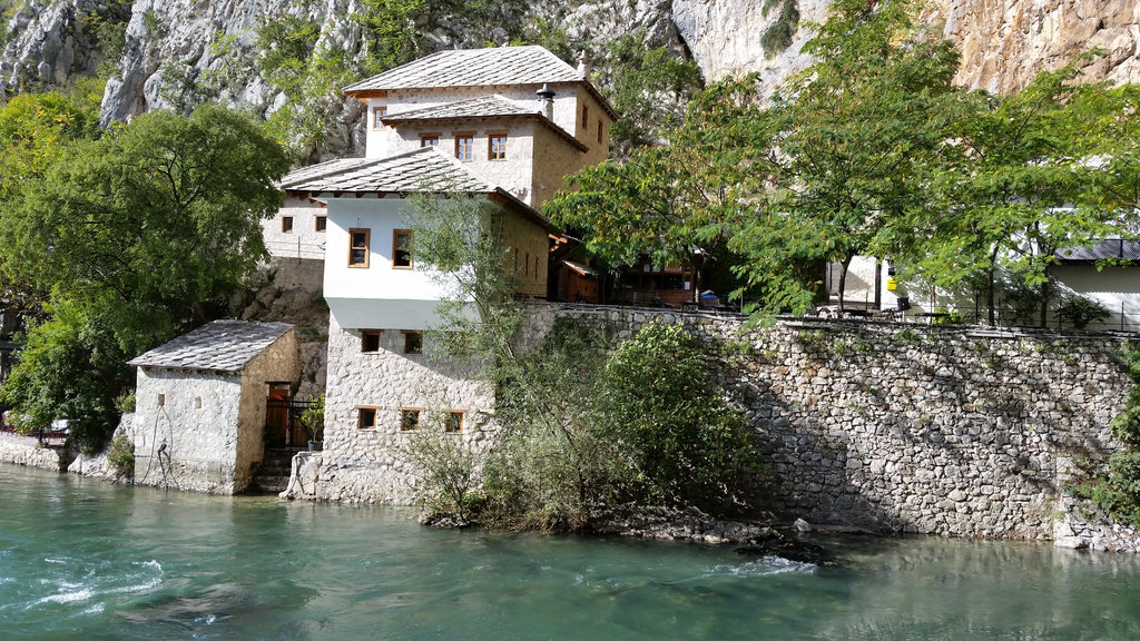 Blagaj Tekke, Dervish house. Photo: Sanjin Đumišić.