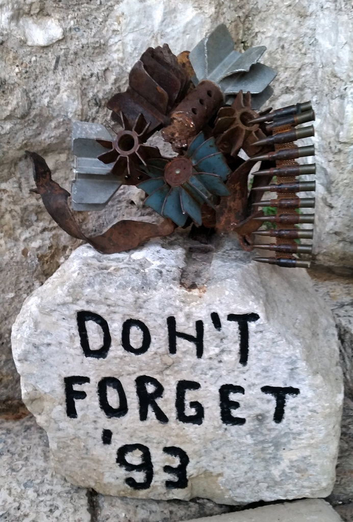 Don't Forget Mostar 1993.