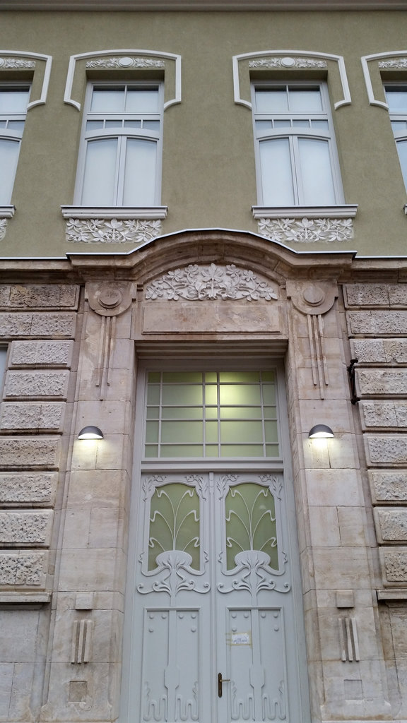 Jugend entrance in Mostar. Photo: Sanjin Đumišić.
