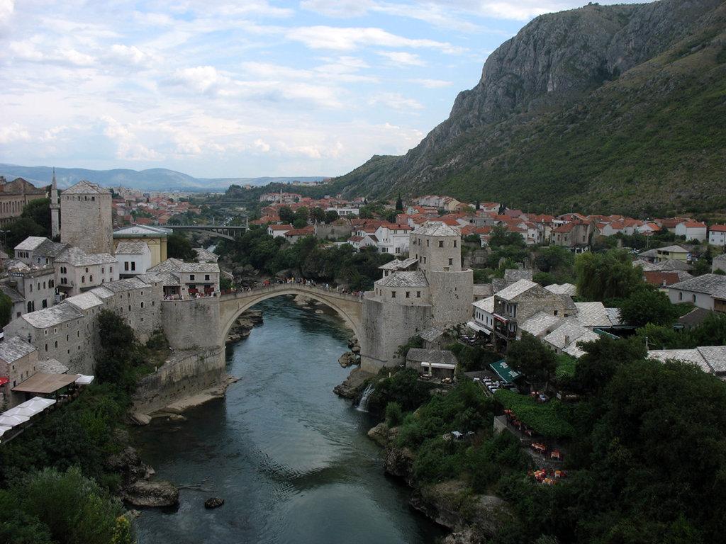 Old Bridge (Stari Most) in Mostar. Photo: Sanjin Đumišić.