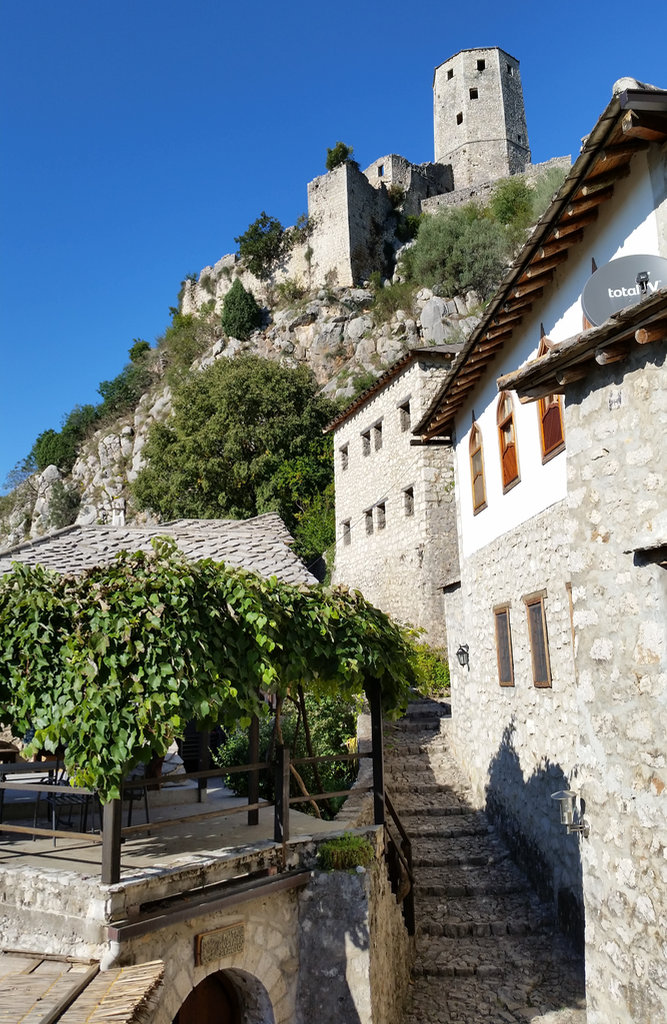 Picturesque Počitelj streets. Photo: Sanjin Đumišić.