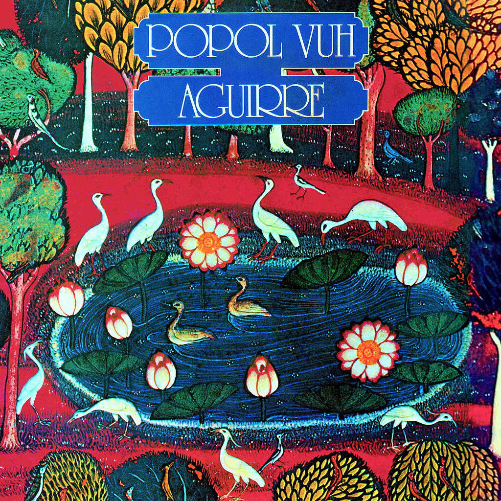 Popol Vuh and the choir organ sound in Aguirre