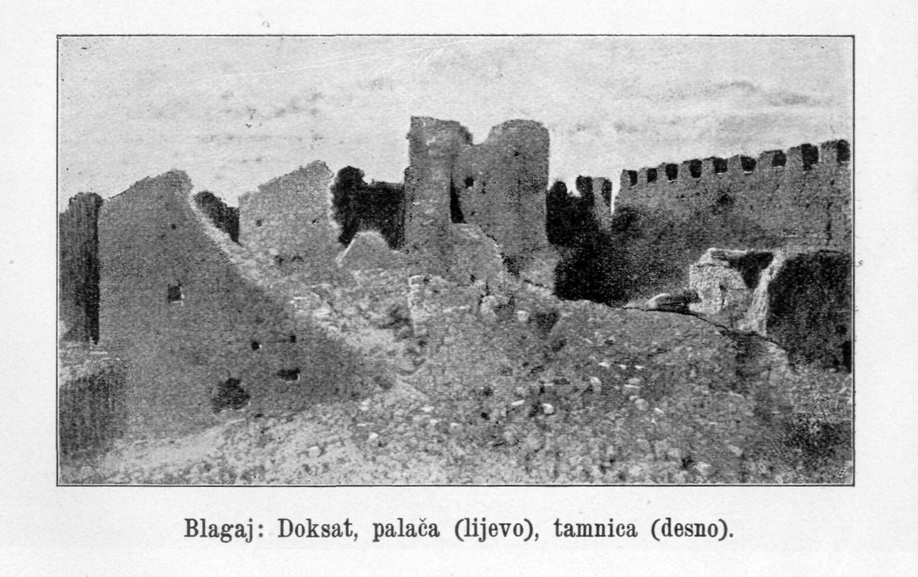 Fortress Stjepan Grad in Blagaj.