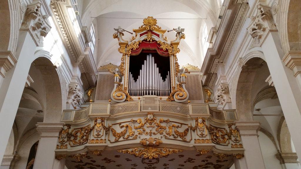 Dubrovnik church organ. Photo: Sanjin Đumišić.