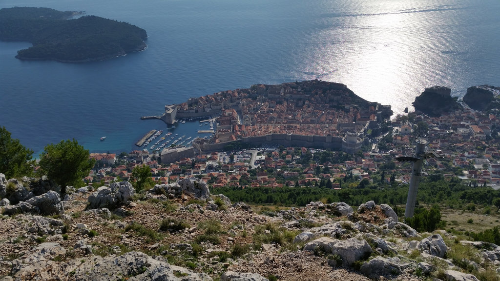 Dubrovnik from above. Photo: Sanjin Đumišić.