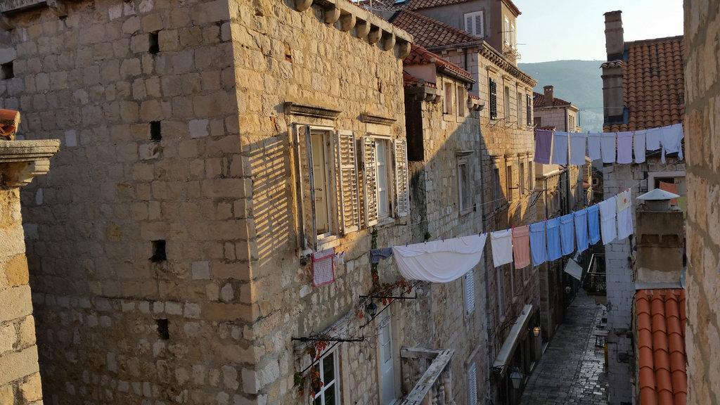 Our street in the morning. Photo: Sanjin Đumišić.