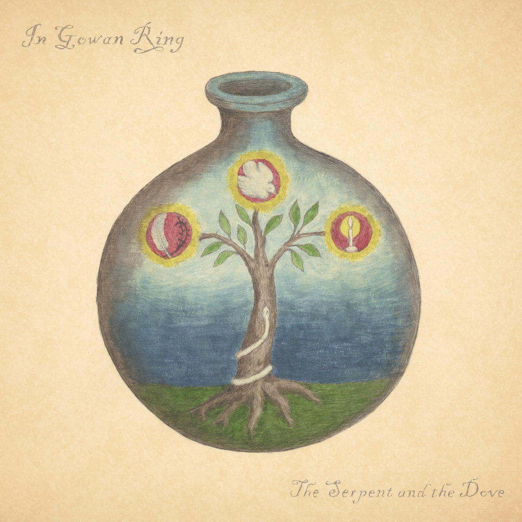 In Gowan Ring album 'The Serpent and the Dove'.