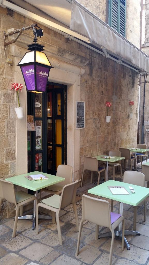 Nishta - Vegetarian, Vegan restaurant in Dubrovnik.