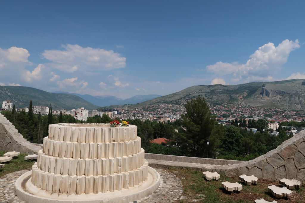Partisan Memorial Cemetery in Mostar. Photo: Sanjin Đumišić.