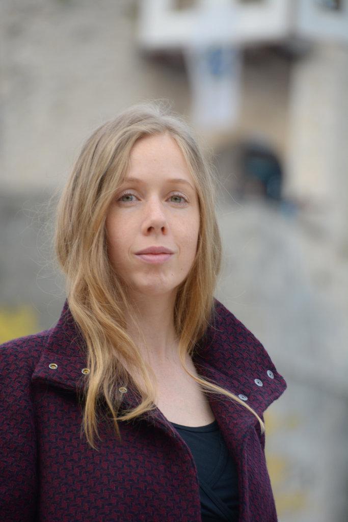 Portrait of Lisa Sinclair. Photo: Sanjin Đumišić.