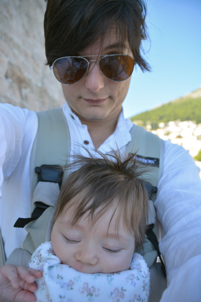 Sanjin and Florens Dubrovnik selfie. Photo: Sanjin Đumišić.