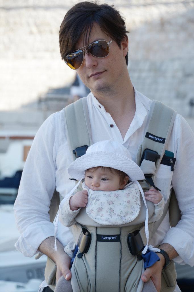 Sanjin and Florens in Dubrovnik. Photo: Lisa Sinclair.