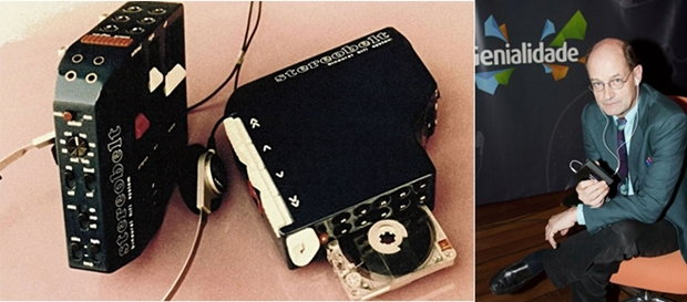 Andreas Pavel, Stereobelt and Walkman.