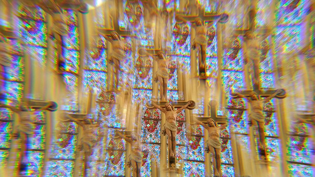 Psychedelic Jesus. Photo: Sanjin Đumišić.