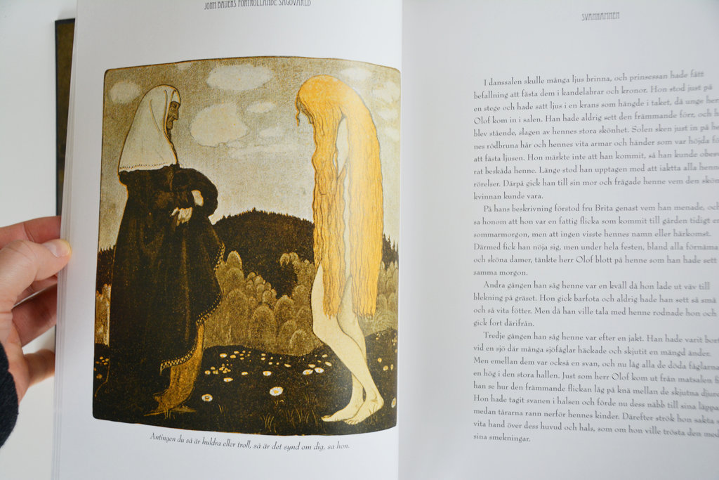 John Bauer illustration.