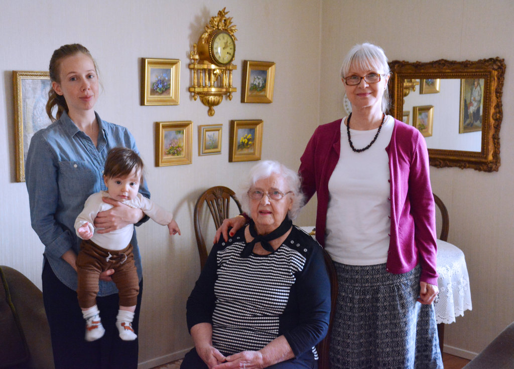 Four generations. Photo: Sanjin Đumišić.