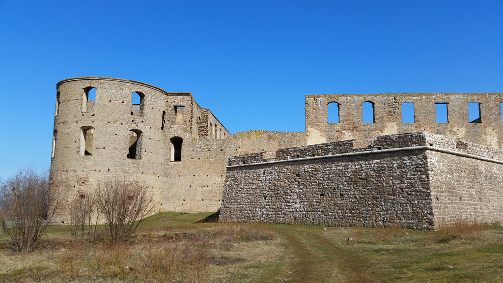 Borgholm Castle. Photo: Sanjin Đumišić.