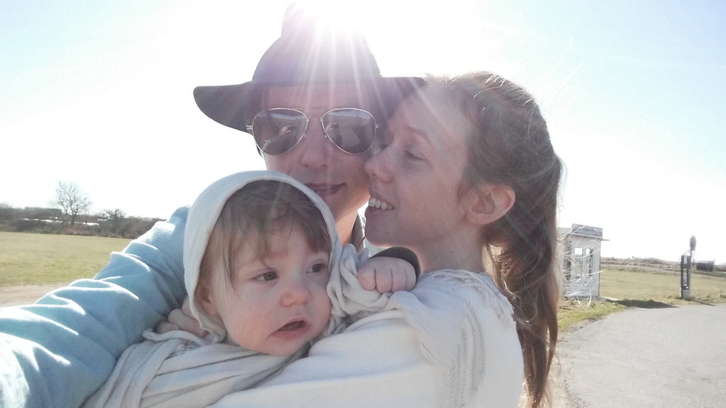Florens, Sanjin, Lisa on Öland road trip selfie.