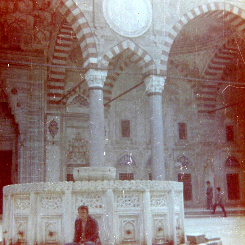 Istanbul mosque fountain, 1970's. Photo: Đumišić.