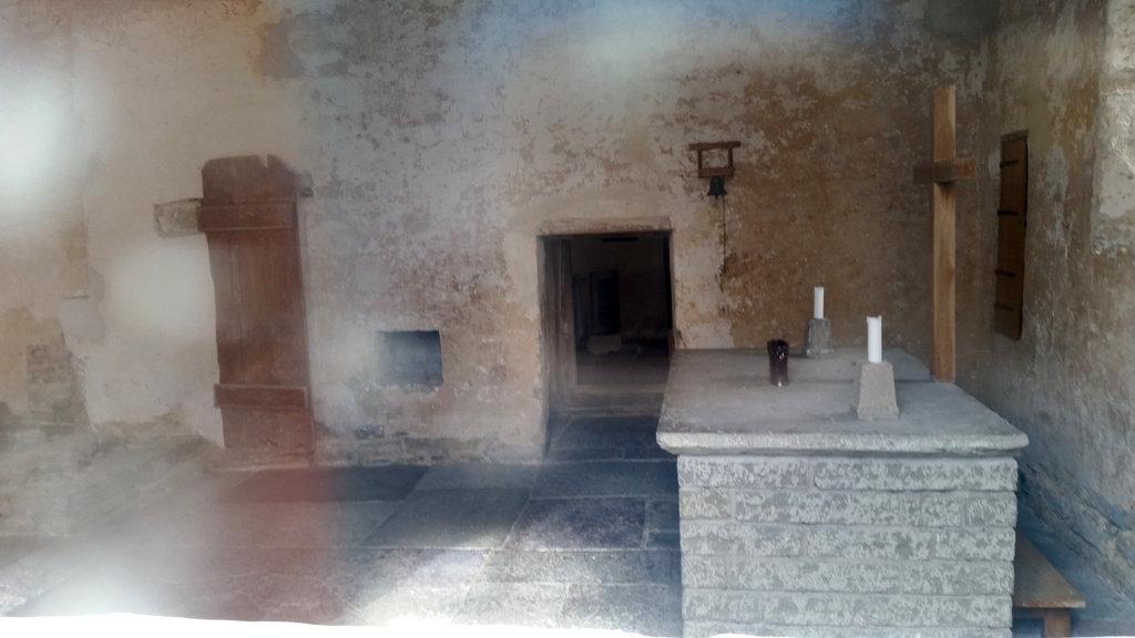 Medieval church altar. Photo: Sanjin Đumišić.