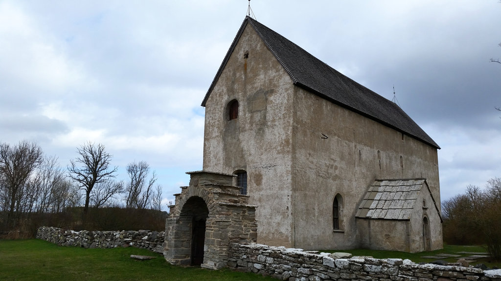 Medieval church in Öland. Photo: Sanjin Đumišić.